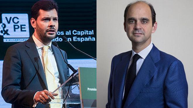 Alejo Vidal-Quadras (izquierda) dirige KKR en España. A la derecha,...