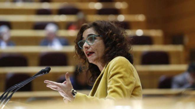La ministra de Hacienda, María Jesus Montero.