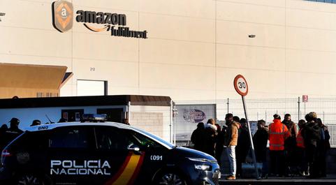 Los sindicatos en Amazon retoman hoy y este viernes las huelgas en el...