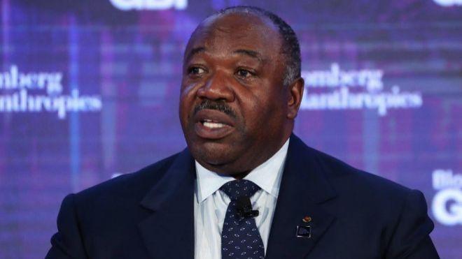 Fotografía de archivo del presidente de Gabón, Ali Bongo Ondimba.