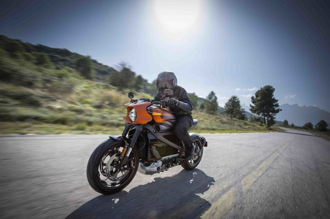 Harley Davidson lanza la primera moto eléctrica de la historia