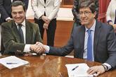 PP y Ciudadanos sellaban el miércoles el pacto para la investidura...