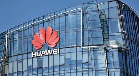 Oficinas de Huawei en Lituania.