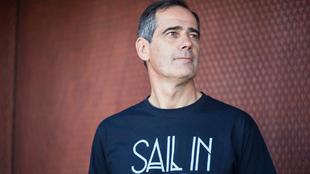 Luis Sáenz Mariscal, durante el SAIL in Festival de Bilbao. | XABIER...