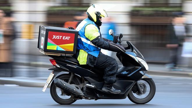 Repartidor de Jest Eat.