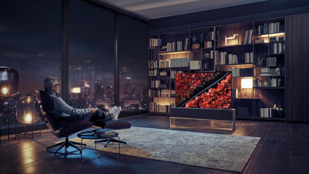 Lg Crea La Primera Televisión Enrollable Expansión