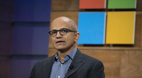 Satya Nadella, CEO de Microsoft.