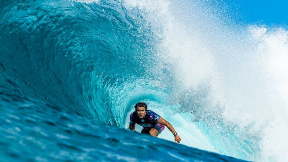 Julian Wilson, que ocupa el cuarto puesto de los surfistas más ricos...