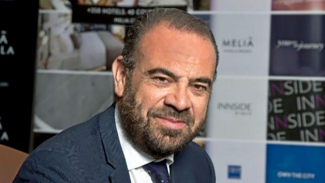Gabriel Escarrer, vicepresidente y consejero delegado de Meliá.