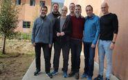 Los siete dirigentes independentistas presos en la cárcel de...