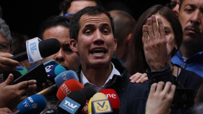 Cuentas venezolanas en EE.UU. quedan en manos de Guaidó