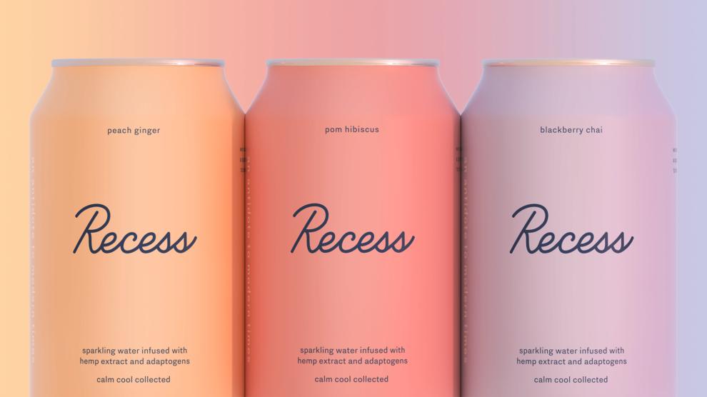 Recess tiene tres sabores distintos: melocotón-jengibre,...