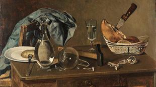 """Balthus. """"Bodegón"""". 1937. Óleo sobre tabla. 81 x 100 cm...."""