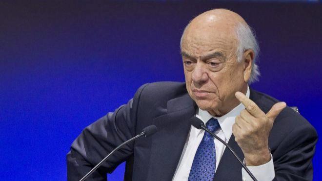 Francisco González dejó los cargos ejecutivos en BBVA el 31 de...