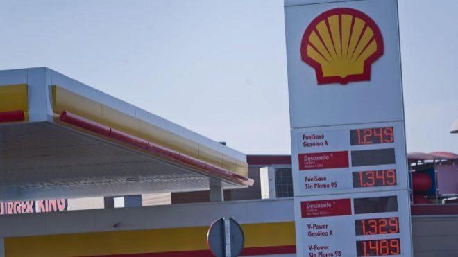Gasolinera de Shell.