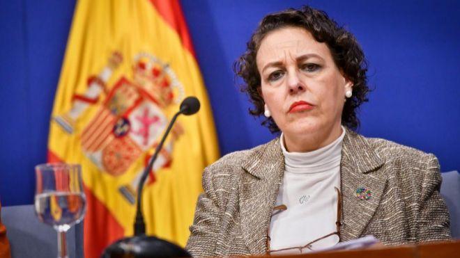 Magdalena Valerio, ministra de Trabajo, Migraciones y Seguridad...
