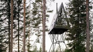 PAN Treetop Cabins, el refugio noruego del arquitecto Espen Surnevik.