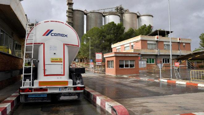 Instalaciones de Cemex.