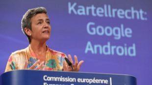 La comisaria de Competencia, Margrethe Vestager.