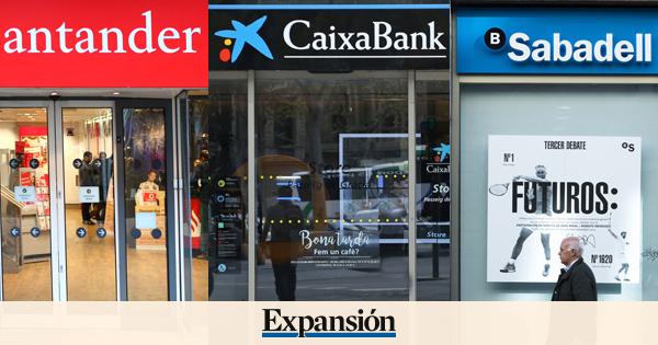 Santander caixabank y sabadell colocan macroemisiones de for Oficinas caixabank madrid