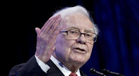 El célebre inversor Warren Buffett.