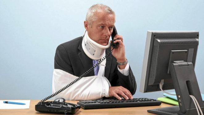 ¿Cuánto hay que pagar si un empleado se lesiona en el trabajo?