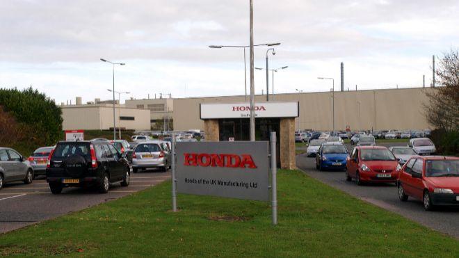 Honda planea cerrar su planta de Swindon en Reino Unido