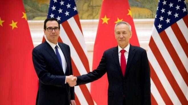 El viceprimer ministro y negociador comercial principal, Liu He...