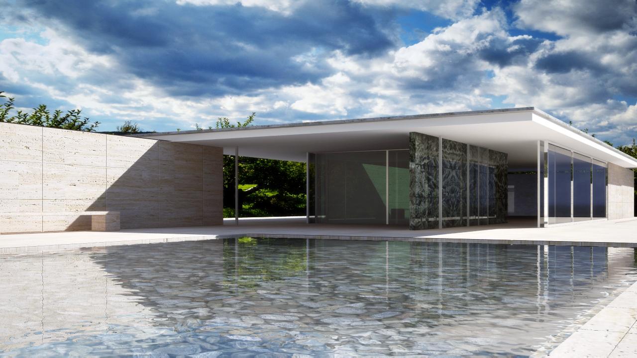 3. Pabellón de Alemania para Barcelona - Mies van der Rohe | Directivos/estilo-vida | EXPANSION.com