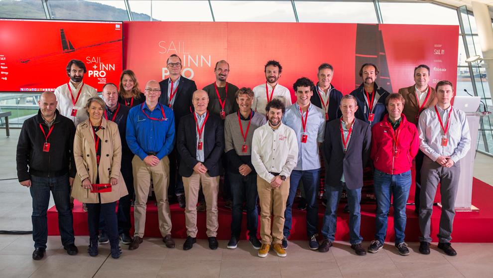Los ponentes de la segunda edición del SAIL INN Pro, este miércoles...