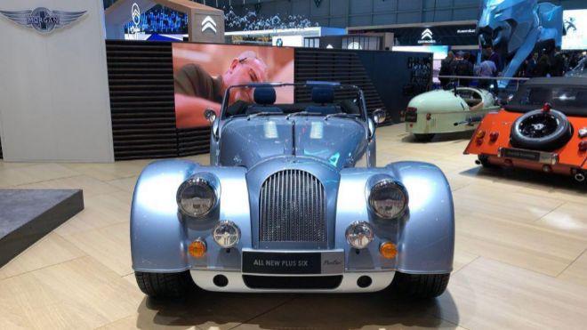 El Morgan Six Plus, presentado en el Salón de Ginebra.