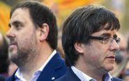 Foto de archivo del expresidente de la Generalitat, Carles Puigdemont...