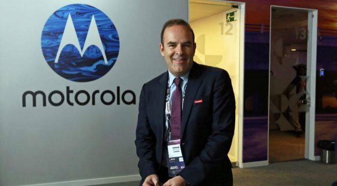 Antony Barounas, vicepresidente para Europa de Motorola