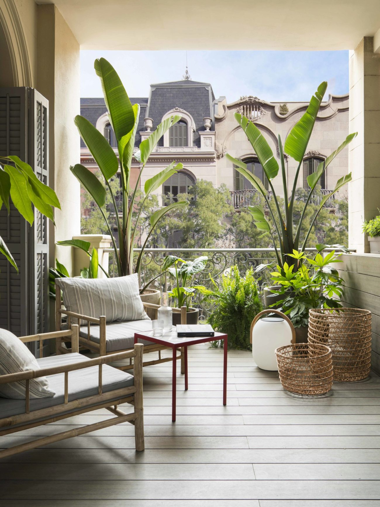 Una acogedora terraza en medio de la gran ciudad. Un lugar íntimo y...