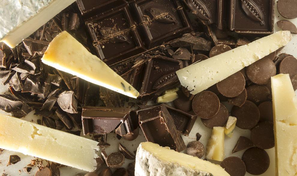 Queso y chocolate: cómo tomar el maridaje perfecto | Gastro