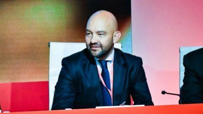 JaimeGarcía-Legaz, consejero de Dia, ayer, en la junta de accionistas...