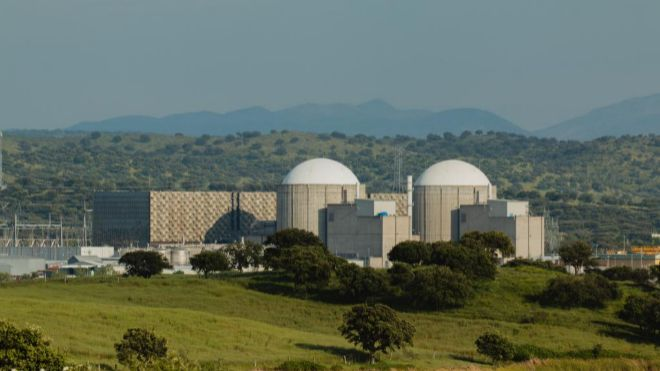 Central nuclear de Almaraz (C�ceres).