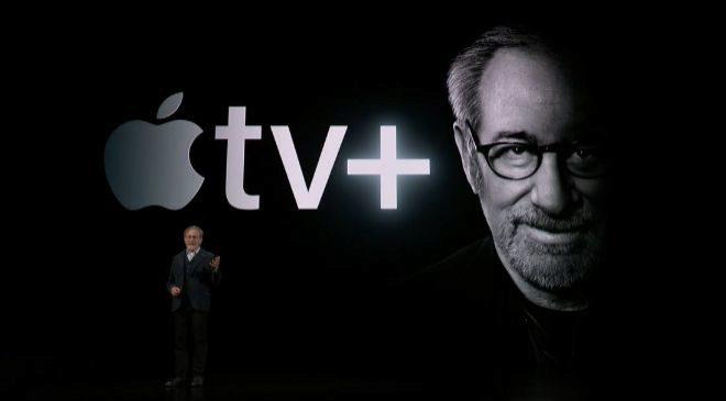 Steven Spielberg, durante la presentación del nuevo servicio de TV de...