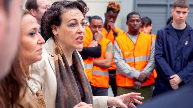 Madalena Valerio, ministra de Trabajo, Migraciones y Seguridad Social.