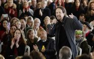 El secretario general de Podemos y candidato a la Presidencia del...