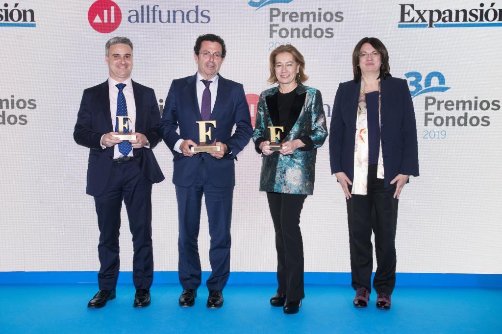 El Premio a la Mejor Gestora Nacional 2018 recayó en Mutuactivos...