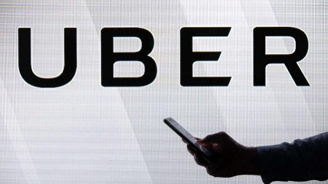Logotipo de Uber.