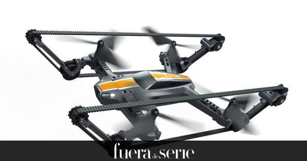 X-Tankopter, El Primer Dron Todoterreno Que Se Mueve Por