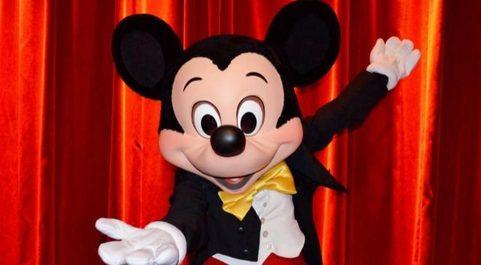 Mickey Mouse, uno de los personajes icónicos de Disney.