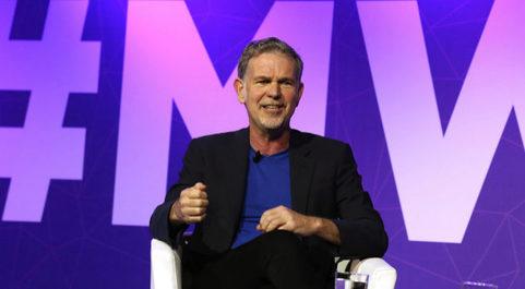 El consejero delegado de Netflix, Reed Hastings.