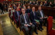 Los doce líderes independentistas acusados por el proceso soberanista...