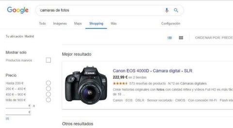 Portal Google Shopping