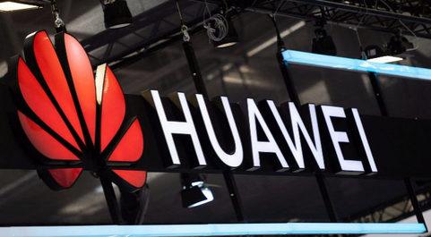 Lgotipo de Huawei.