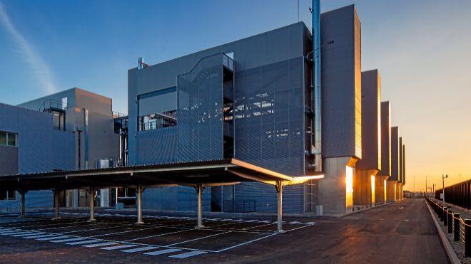 Imagen del centro de datos de Telefónica en Alcalá de Henares...