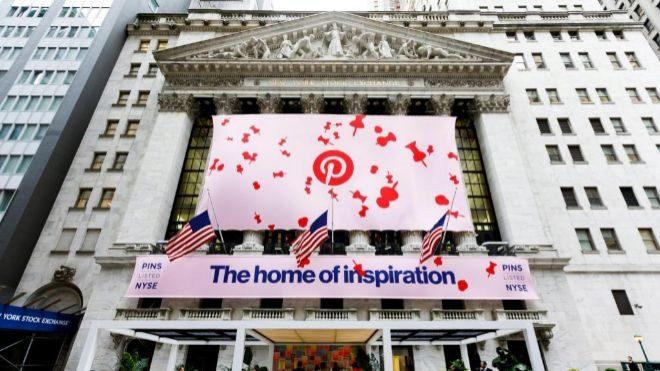 Pinterest entra a la bolsa con una buena imagen